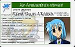 The 2nd Version of Rinyas ID Card. :3
