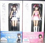 Fraulein figures are pretty good, but less visually pleasing than Figma. And Revolutech is pretty evil to release Ami and Mami in limited and normal...