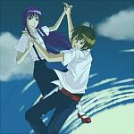 Older!Rika and Keiichi. :D