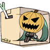 Halloween Miku in a box