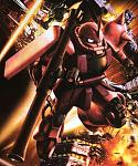 Is this Char Zaku?Credit to Mikoo for this awesome wallpaper.