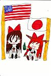 Touhou with obama shirts!!