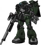 Zaku Sniper II by CHASER Odyssey