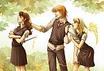 ron hermione lavender