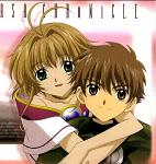 Syaoran and Sakura.