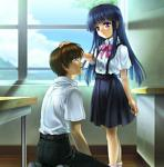 Keiichi and Rika by Moonknives