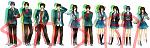 The SOS Brigades again. Haruki looks so punk~  Full-sized link: http://i62.photobucket.com/albums/h109/51793Moeman/SOSBrigades.png