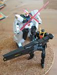 Seravee Gundam and Seraphim Gundam 2