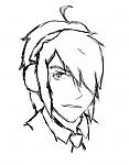 Genderbent Haruhi, pre-haircut.