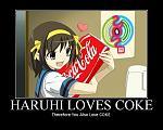 Haruhi Loves Coke