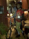 "Septe 18  pic  of ""biketowork"" members we met @ le bridge ;>"