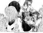 Kiss between Amu and Ikuto Cheek