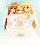 Nanoha, Feito, & Vivio  This is what they cheated us out of at the end of StrikerS........