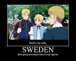 Hetalia  Sweden by xXDarkSunXx