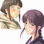 Hinata Hyuuga & Nemu Kurotsuchi  (Naruto) (Bleach)