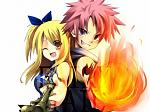 large Lucy And Natsu 39823