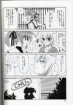 Nanoha:... But, just like that creature said... I was very busy and totaly forgot about it...  Nanoha: Yuuno-kun, when we met the first time......