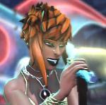 Sashiko's new hair style