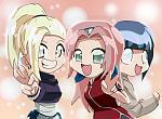 Ino, Sakura and Hinata