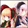 Shinku + Suigintou - 2 [By Pellissier]